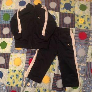 18 month Puma track suit